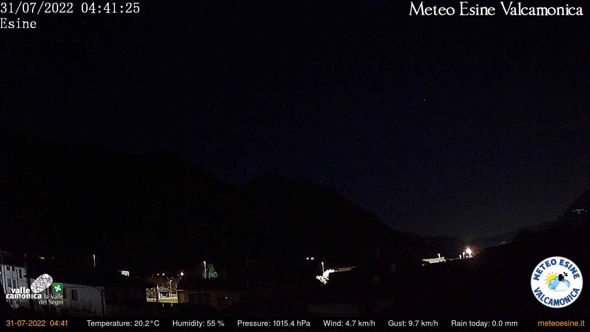 Webcam a Esine (BS)